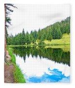 Lake Irene 12-3 Fleece Blanket