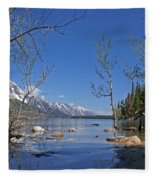 Lake Jenny Fleece Blanket