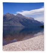 Lake Mcdonald Reflection Glacier National Park 4 Fleece Blanket