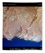 Lake Mead - Planet Art Fleece Blanket