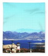 Lake Mead Las Vegas Fleece Blanket