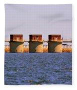 Lake Murray S C 2 Fleece Blanket