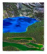 Lake O'hara Fleece Blanket