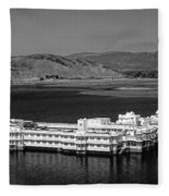 Lake Palace Hotel Fleece Blanket