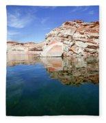 Lake Powell And The Glen Canyon Fleece Blanket