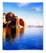 Lake Powell Fleece Blanket