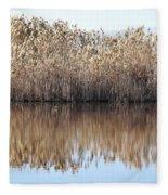 Lake Reflexion Fleece Blanket
