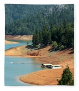 Lake Shasta Fleece Blanket