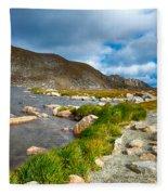Lake Summit Tundra Path Fleece Blanket