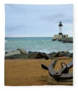 Lake Superior Fleece Blanket