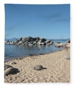 Lake Tahoe Morning Fleece Blanket