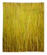 Lake Tahoe Wild Grasses Fleece Blanket