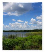Lake Tarpon Fleece Blanket