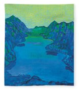Lake Thun Fleece Blanket