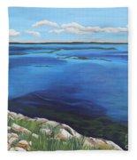 Lake Toho Fleece Blanket