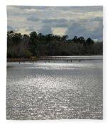 Lake Waccamaw II Fleece Blanket