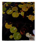 Lake Washington Lilypad 8 Fleece Blanket
