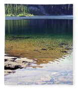 Lake Washington  Fleece Blanket