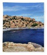Lake Watson At The Dells 1 - Prescott, Arizona Fleece Blanket