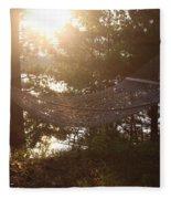 Lakeside Hammock Fleece Blanket