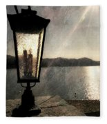 Lakeside Lantern Fleece Blanket