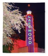 Lakewood Theater Fleece Blanket