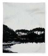 Lal Bagh Lake 3 Fleece Blanket