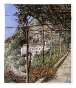 L'albergo Dei Cappuccini-costiera Amalfitana Fleece Blanket