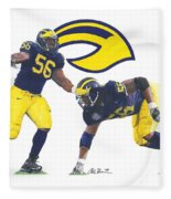 Lamarr Woodley Fleece Blanket
