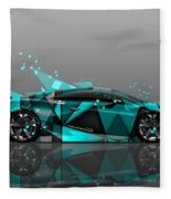 Lamborghini Fleece Blanket