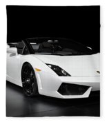 Lamborghini Gallardo Lp560-4 Spyder Fleece Blanket