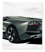 Lamborghini Reventon 2 Fleece Blanket