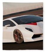 Lamborghini Sesto Elemento - 04 Fleece Blanket