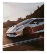 Lamborghini Sesto Elemento - 12 Fleece Blanket