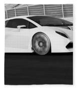 Lamborghini Sesto Elemento - 21 Fleece Blanket