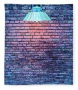 Lamp Light Fleece Blanket