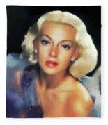 Lana Turner, Hollywood Legend Fleece Blanket