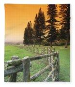 Lanai, City View Fleece Blanket