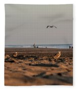 Land, Air, Sea Fleece Blanket