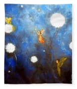 Land Of Fairies 2 Fleece Blanket