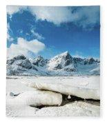 Land Of Ice And Snow Fleece Blanket