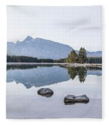 Land Of Thousand Lakes Fleece Blanket