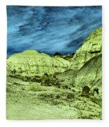 Land Of Turmoil Fleece Blanket