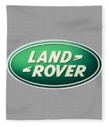Land Rover Emblem Fleece Blanket