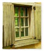 Landis Valley Window Fleece Blanket
