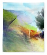 Landscape 02-05-10 Fleece Blanket