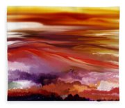 Landscape 022511 Fleece Blanket