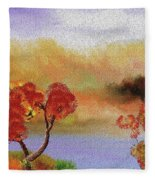 Landscape 031111 Fleece Blanket