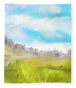 Landscape 040710 Fleece Blanket