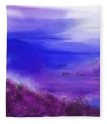 Landscape 081610 Fleece Blanket